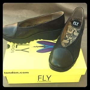 FLY London, Yani in black, size 40